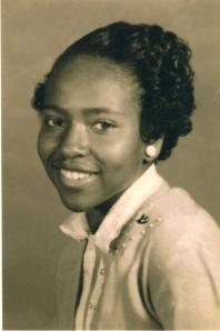 Mae Etta Johnson of Quitman, Texas 1958