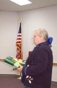 Cleman donates Jet Set book
