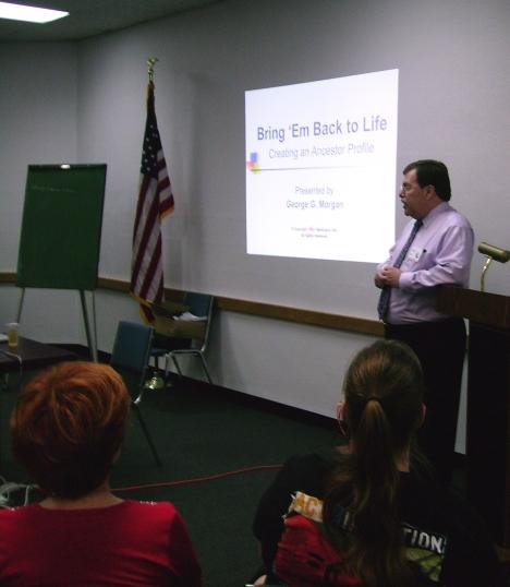 Gerorge Foreman lectures at WCGSTX Workshop