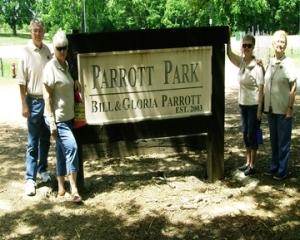 Parrott Park Sign
